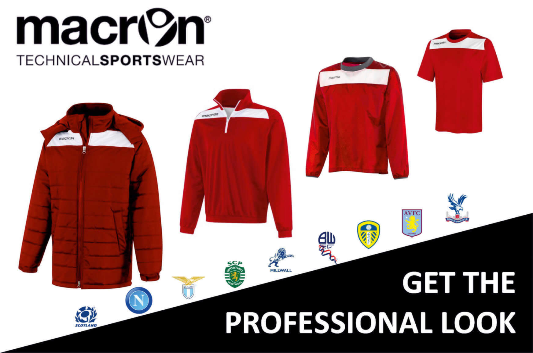 Football Kits and Equipment