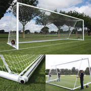 Harrods Goal Nets for Self Weighted Football Posts Senior 7.32m x 2.44m (24x8ft)