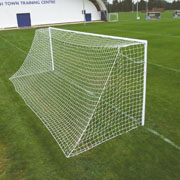 76mm Round Super Heavyweight Football Goals Senior 7.32m x 2.44m (24x8ft)