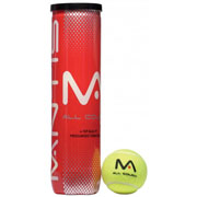 Mantis All Court Tennis Balls Tube of 4