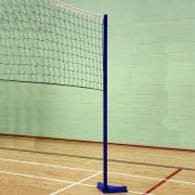 Harrod Fixed Volley Ball Posts 38mm Diameter Fixed Volleyball Post Pair
